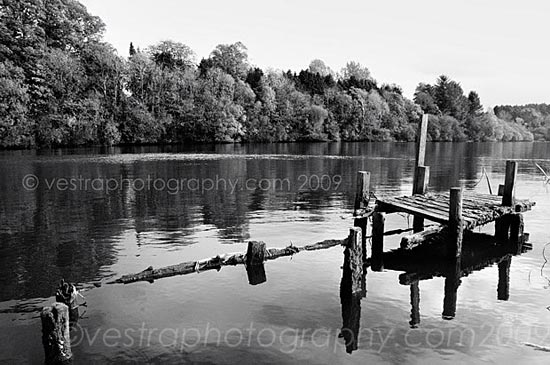 photograph of Old jetty on the River Bann