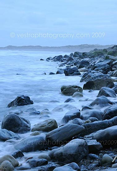 photograph of Coastal rocks at County Sligo
