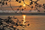 Lough Neagh Sunset framed photo