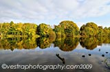 River Bann Reflections framed photo