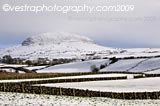 Slemish Winter framed photo